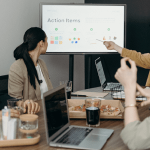 Animation de réunion